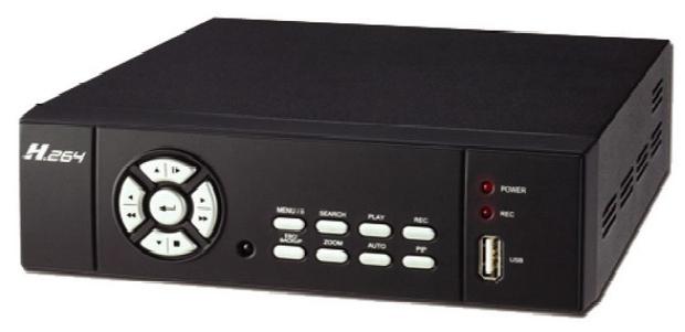 RYK-9230  4 CH H.264 數位錄放放影機 ( 硬碟為選配 )